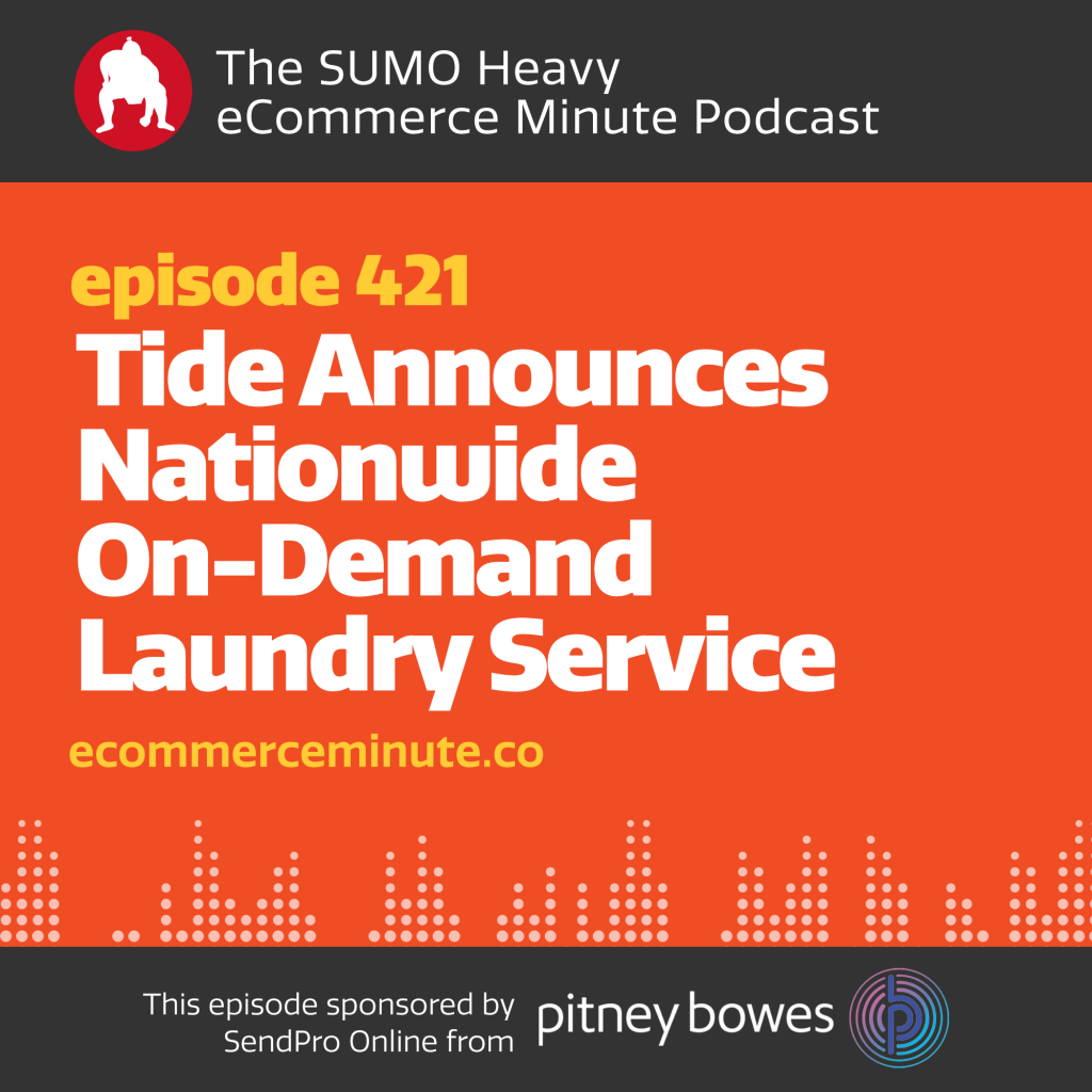 Tide Announces Nationwide On-Demand Laundry Service