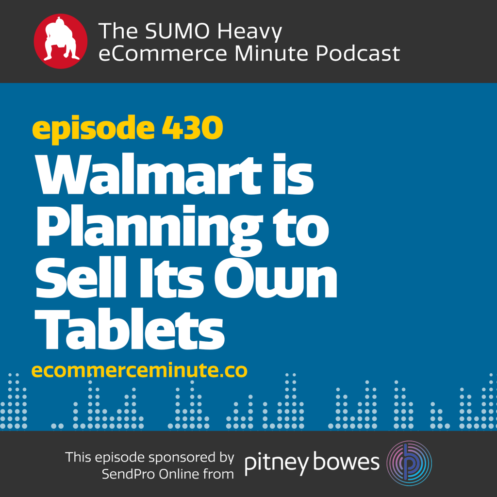 Listen to the eCommerce Minute episode 430 on Anchor.fm/ecommerceminute