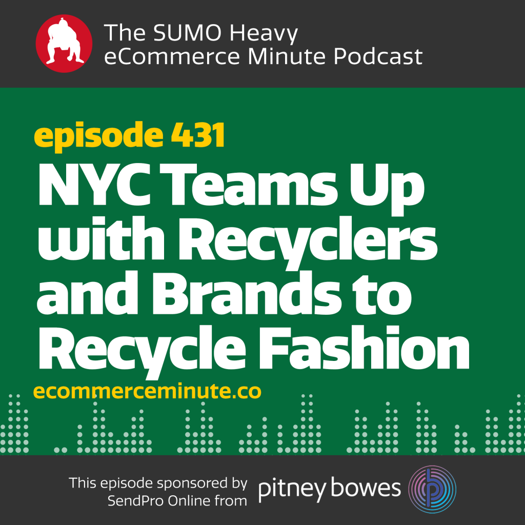Listen to the eCommerce Minute episode 431 on Anchor.fm/ecommerceminute